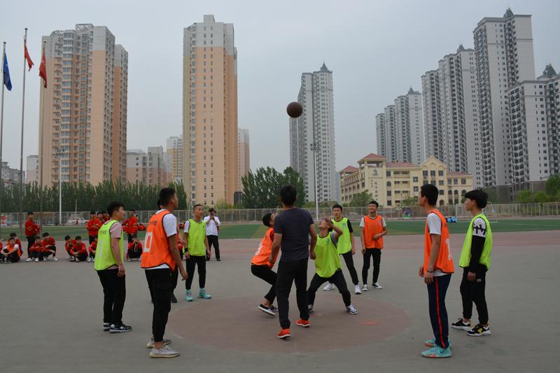 邯郸北方学校篮球联谊赛
