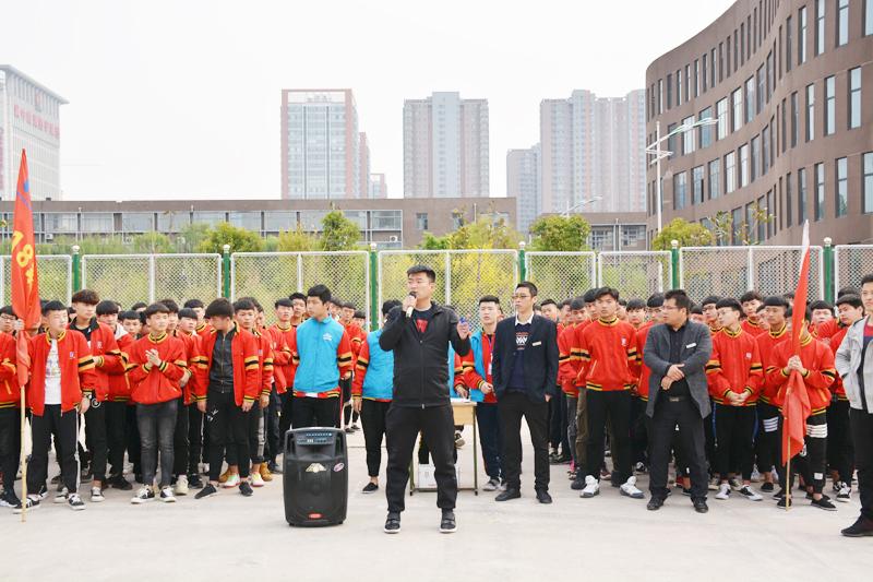 邯郸北方学校拔河比赛活